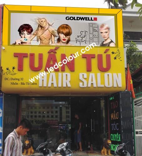 Biển LED Salon tóc Tuấn Tú.