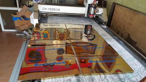 Biển công ty Inox Đồng tại xưởng