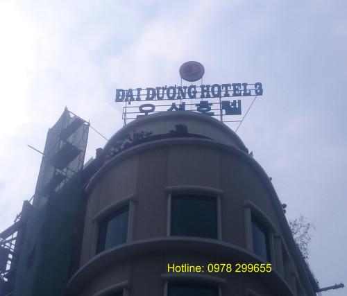 Biển quảng cáo Hotel Đại Dương