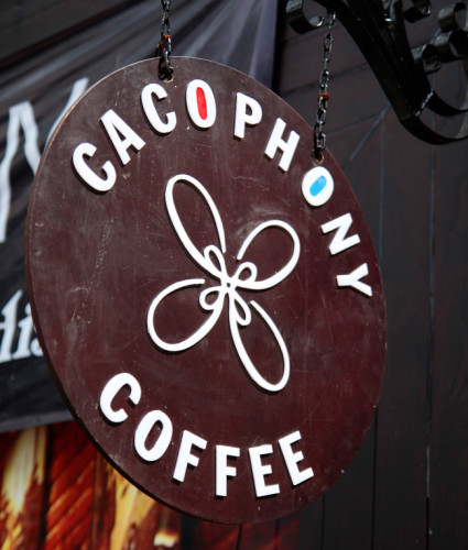 Biển quang cáo led cafe