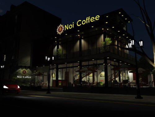 Biển quảng cao coffee tại Hà Noi