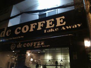 Biển quảng cáo quán decoffee