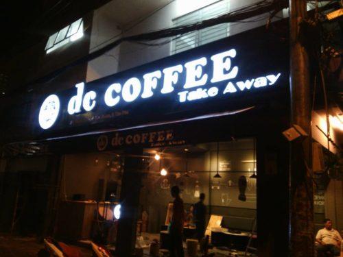 Biển quảng cáo led decoffee