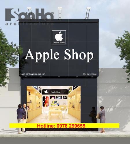Biển quảng cáo cửa hàng điện thoại rẻ
