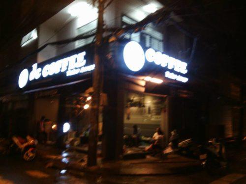 Biển quảng cáo quán coffee tại Hà Nội