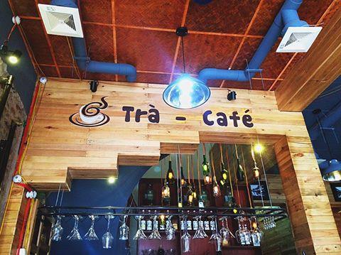 Biển quảng cáo quán cafe mộc dep