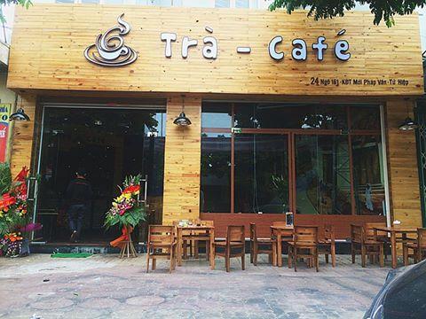 Biển quảng cáo quán cafe Mọc