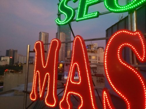 Biển quảng cáo Massger nổi bật