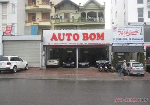 Biển quảng cáo oto Bom
