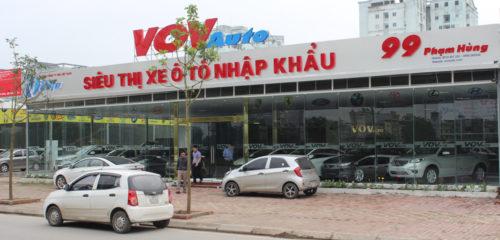 Biển quảng cáo oto VOV