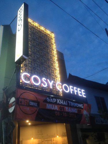 Thi công biển hiệu cafe đẹp