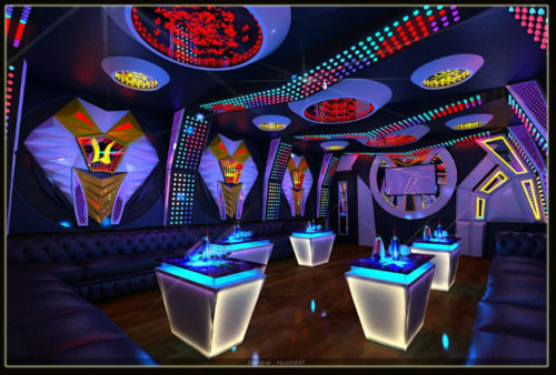 Mẫu phòng hát karaoke 1