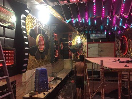 Thi công phòng hát karaoke vip