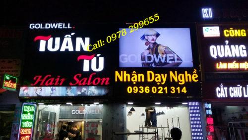 Biển quảng cáo salon tóc