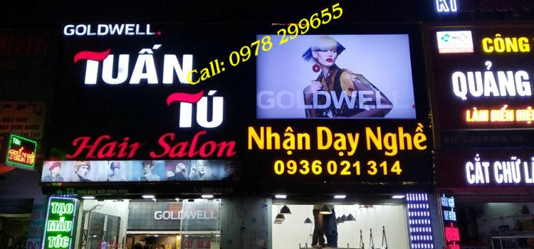 Biển quảng cáo salon tóc đẹp