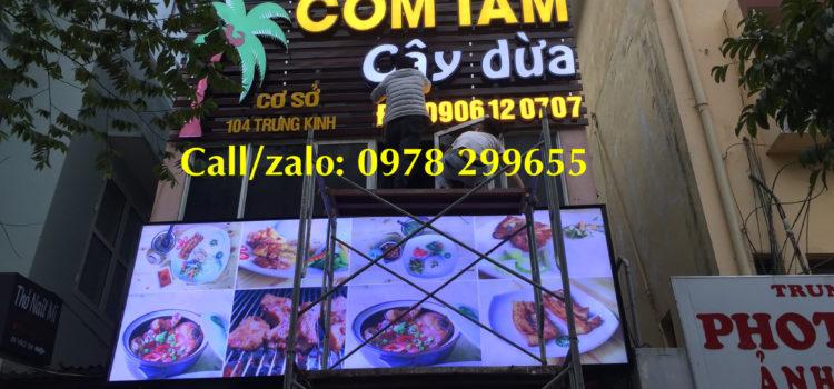 Biển hiệu nhà hàng quán cơm