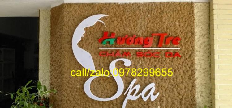 Thiết kế biển hiệu quảng cáo spa đẹp-giá rẻ