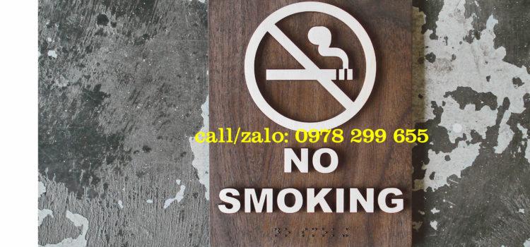 Biển chỉ dẫn cấm hút thuốc siêu rẻ-chất lượng.