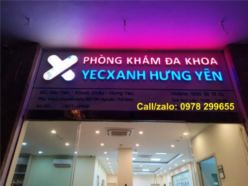 Bien quang cao phòng khám, bệnh viện Yesxanh Hưng Yên