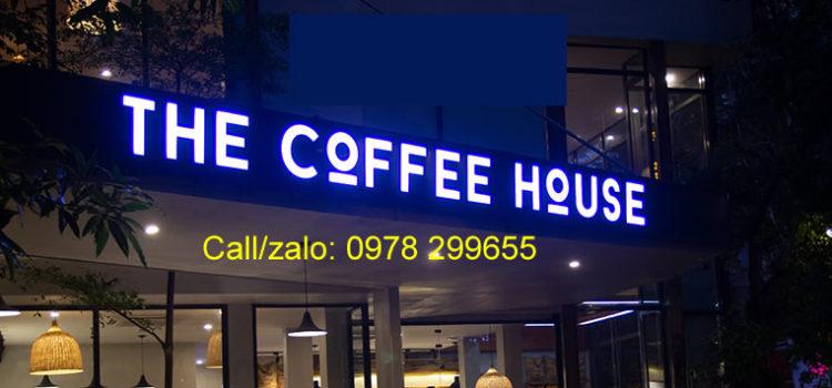 Mẫu biển hiệu quán cafe nổi bật 2020