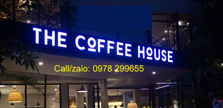 Biển quảng cáo the coffee house
