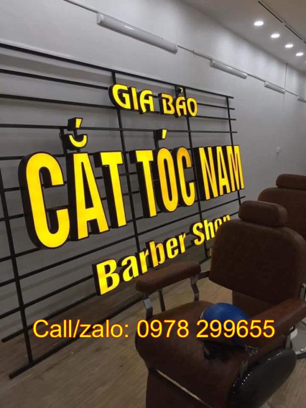 biển hiệu cắt tóc namđẹp