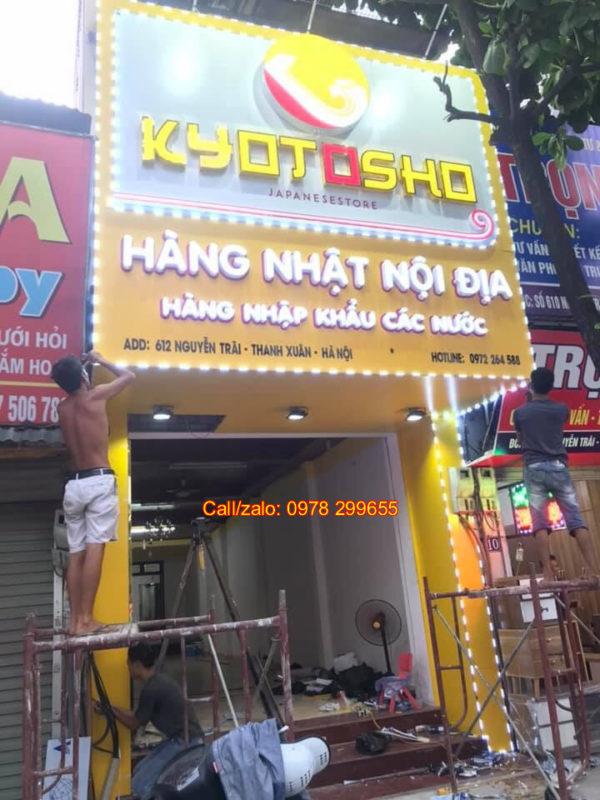 biển cửa hàng shop hàng nội địa