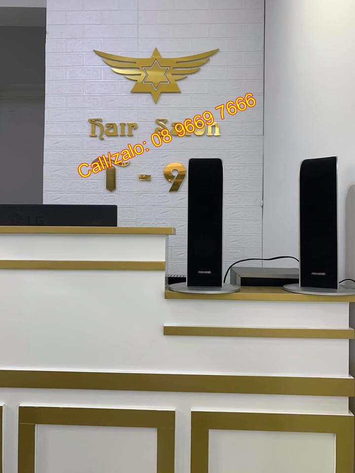 Biển salon tóc nam nữ