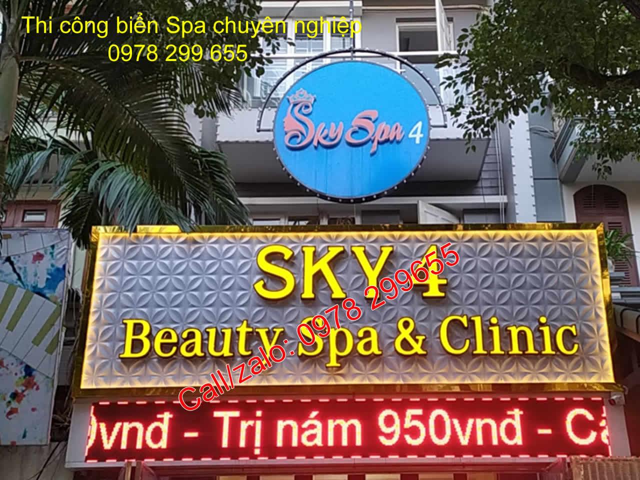 Biển quảng cáo beauty đẹp nhất