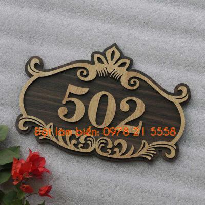 biển phòng bằng gỗ